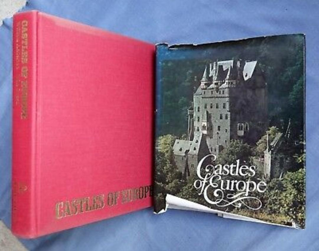 Coffee Table Sized Hardbound Castles Of Europe Books Books On Carousell
