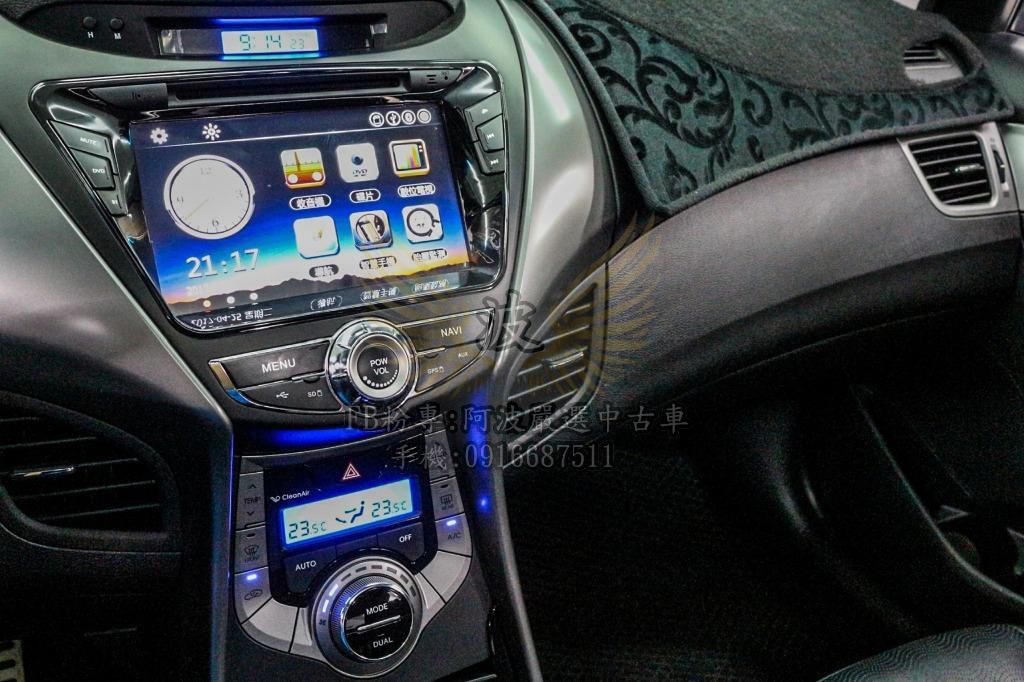ELANTRA 螢幕 雙出排氣管 I KEY 客製化改裝