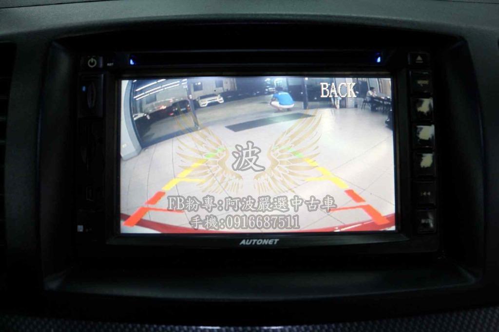 FORTIS 優質原廠車 倒車螢幕 客製化改裝