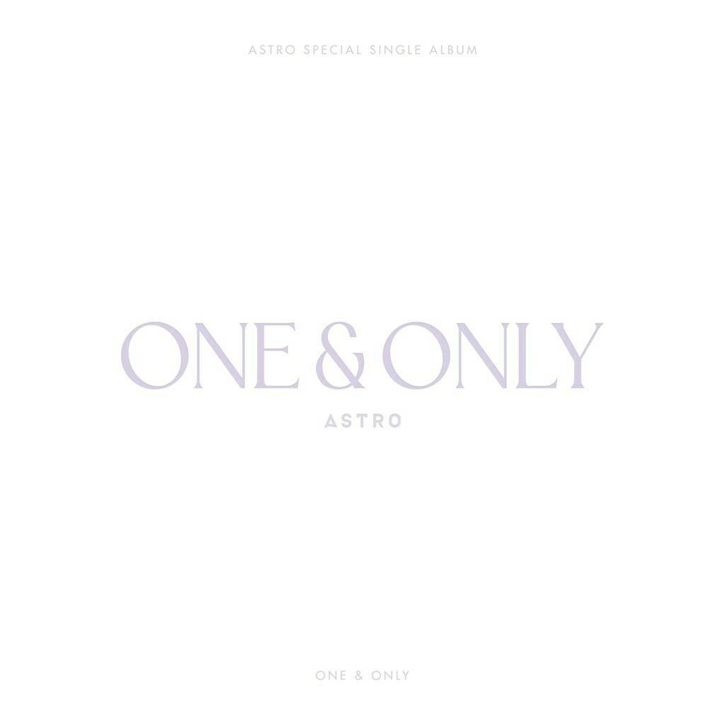 (FREE POSTAGE) ASTRO Special SIngle Album ONE&ONLY