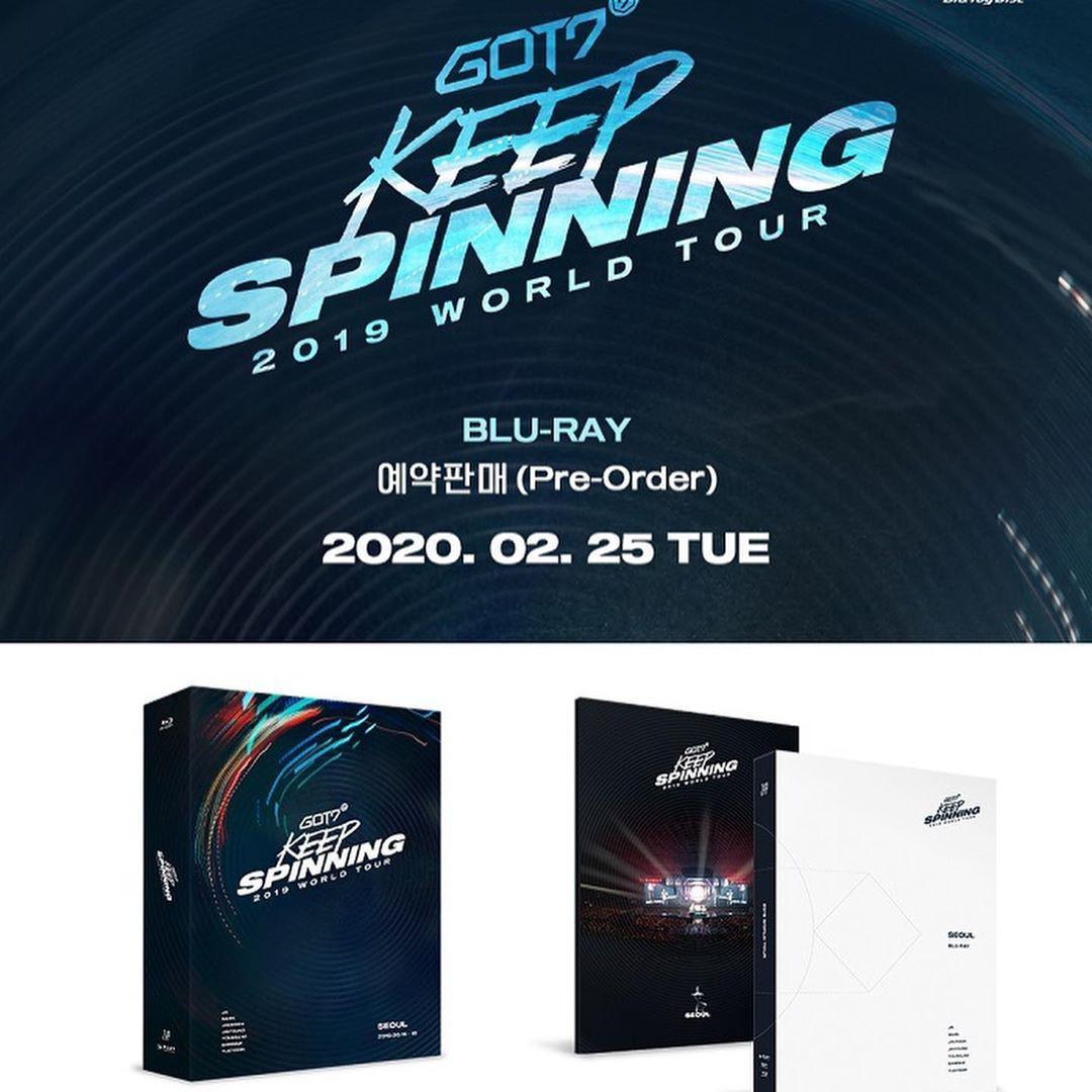 GOT7 - 2019 GOT7 WORLD TOUR 'KEEP SPINNING' BLU RAY