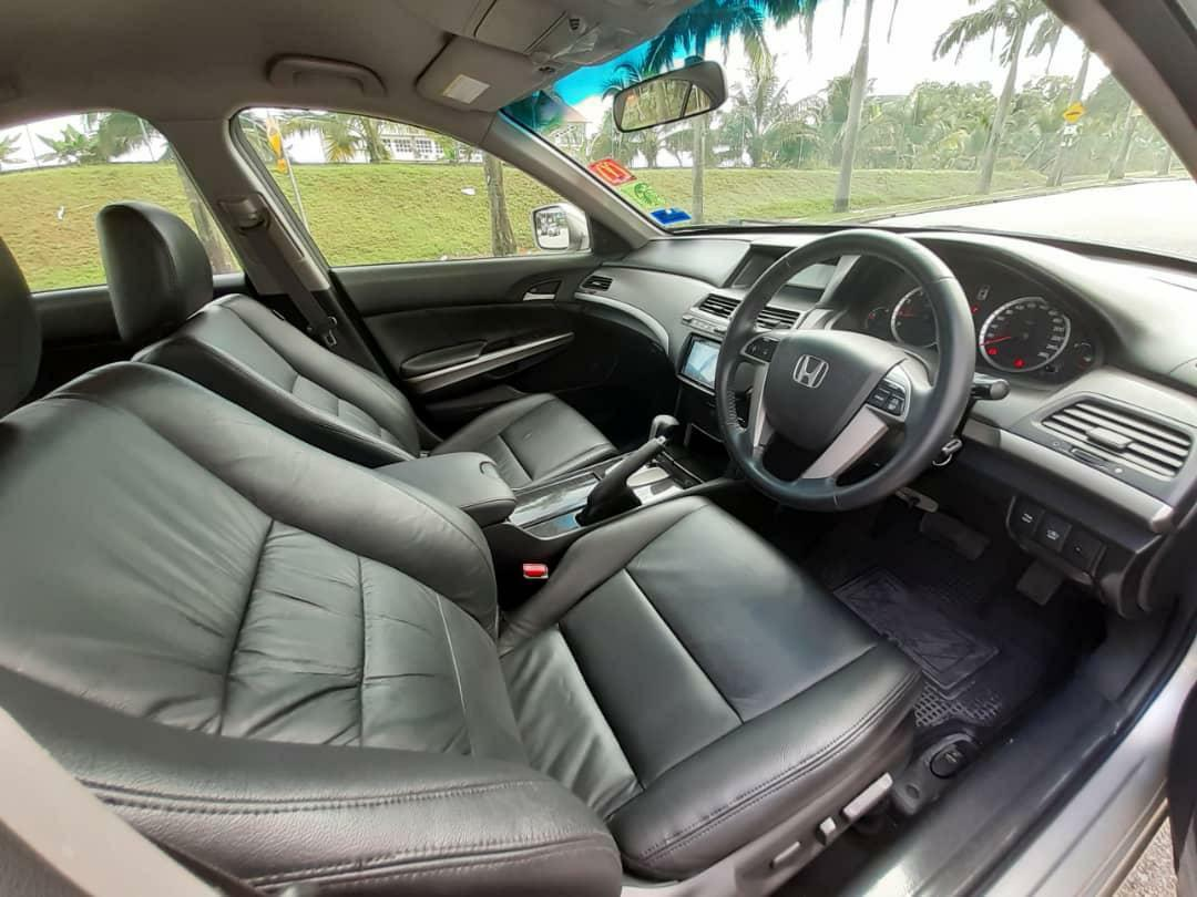 Accord 2.4 auto full spec 1 DATUK owner 100% ory pain like new