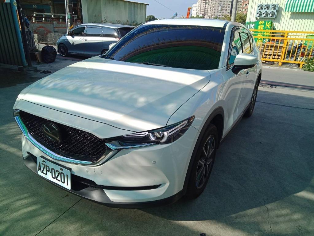 Mazda18年 CX5 2.0 汽油 白 跑5萬