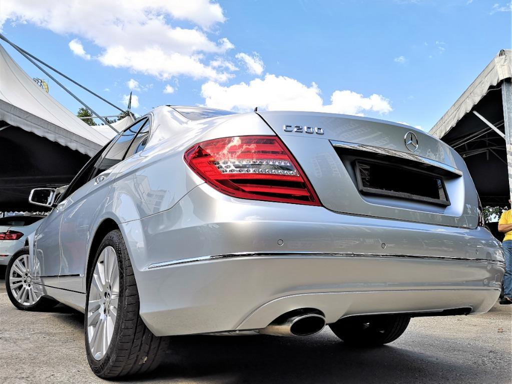 Mercedes-Benz C200 CGI 1.8 Sedan[ONE OWNER][LOCAL CKD][TIP-TOP CONDITION] ACTUAL YEAR MAKE 2011