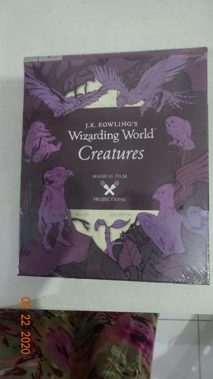 New Books ie School for Good and Evil: A Crystal in Time, Harry Potter: Wizarding World Creatures, , etc