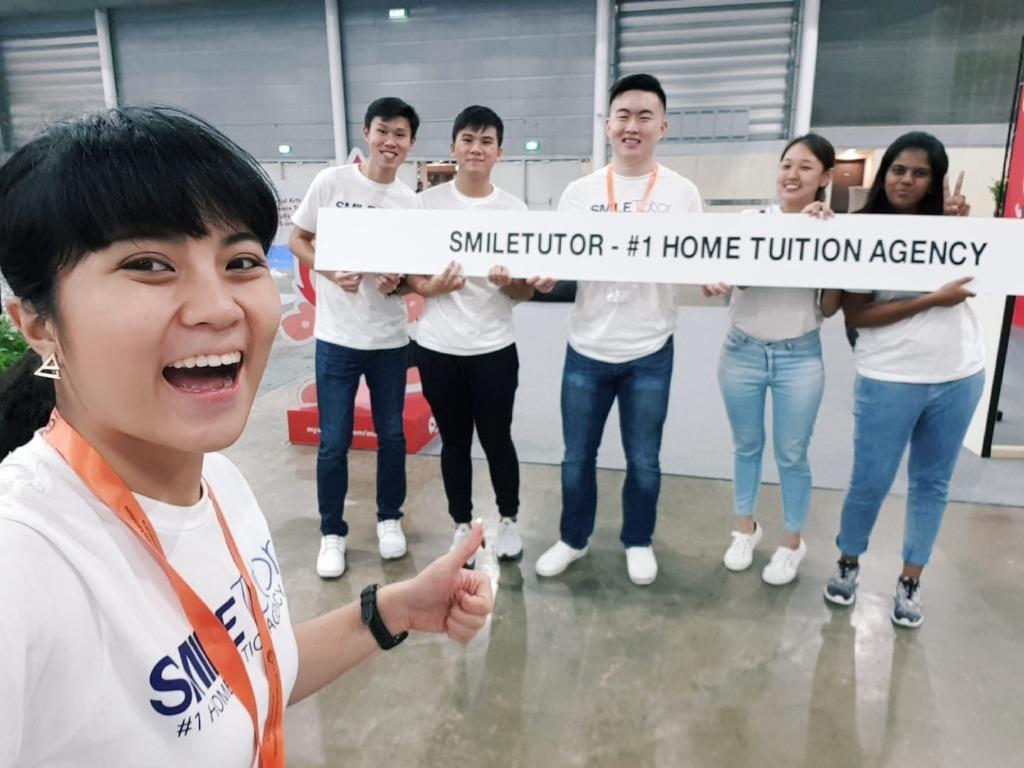 Operations Manager @ SmileTutor (#1 Tuition Agency)