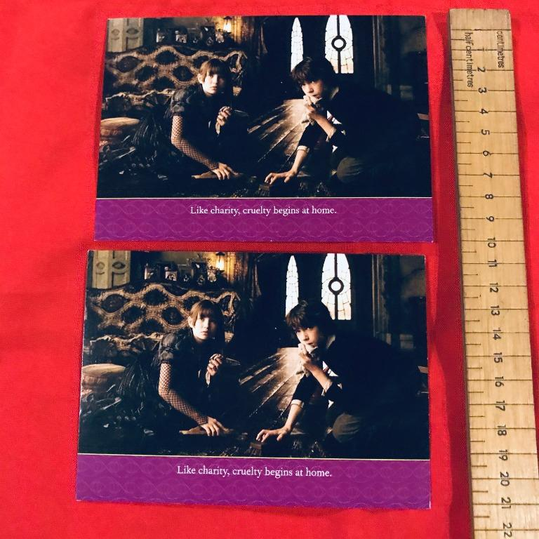 Postcards: A Series of Unfortunate Events #3 Like Charity, Cruelty Begins At Home