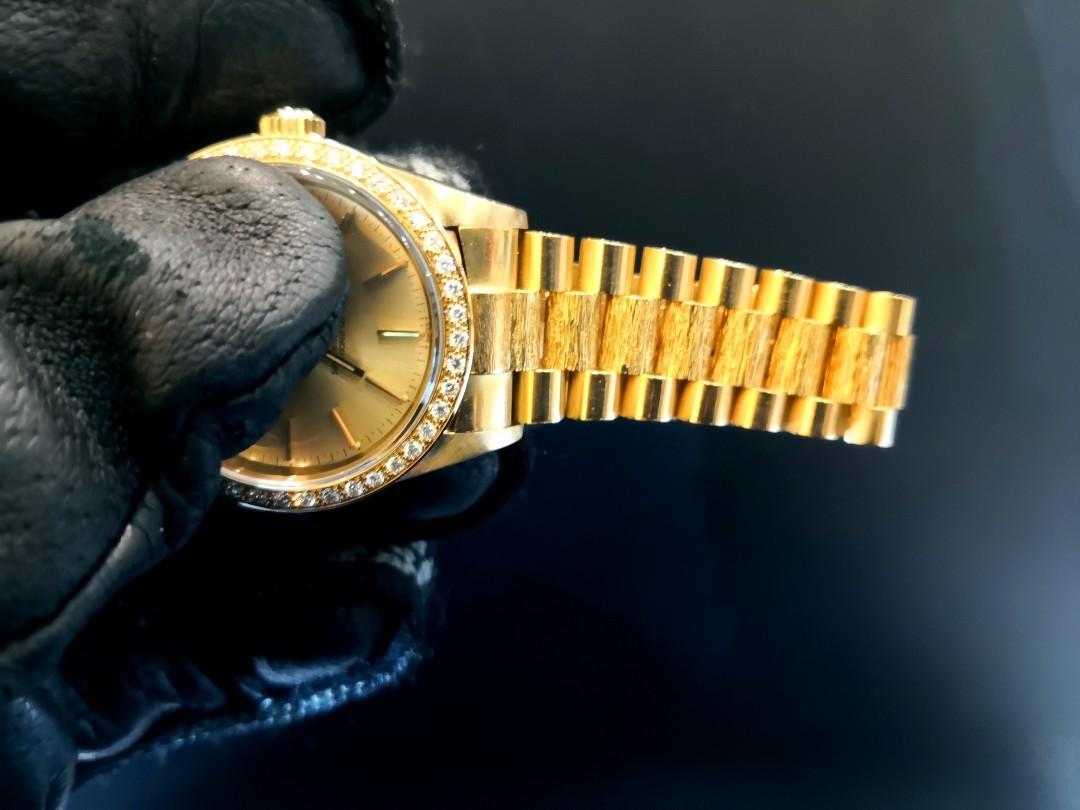 PREOWNED ROLEX Datejust, 16018, Full Solid Yellow Gold, 36mm, Men-size, 84xxxxx Series @ Circa Year 1984-85 Mens Watch