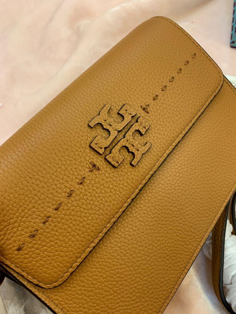 Ready stock authentic Tory Burch women sling bag crossbody handbag belt gibnk.