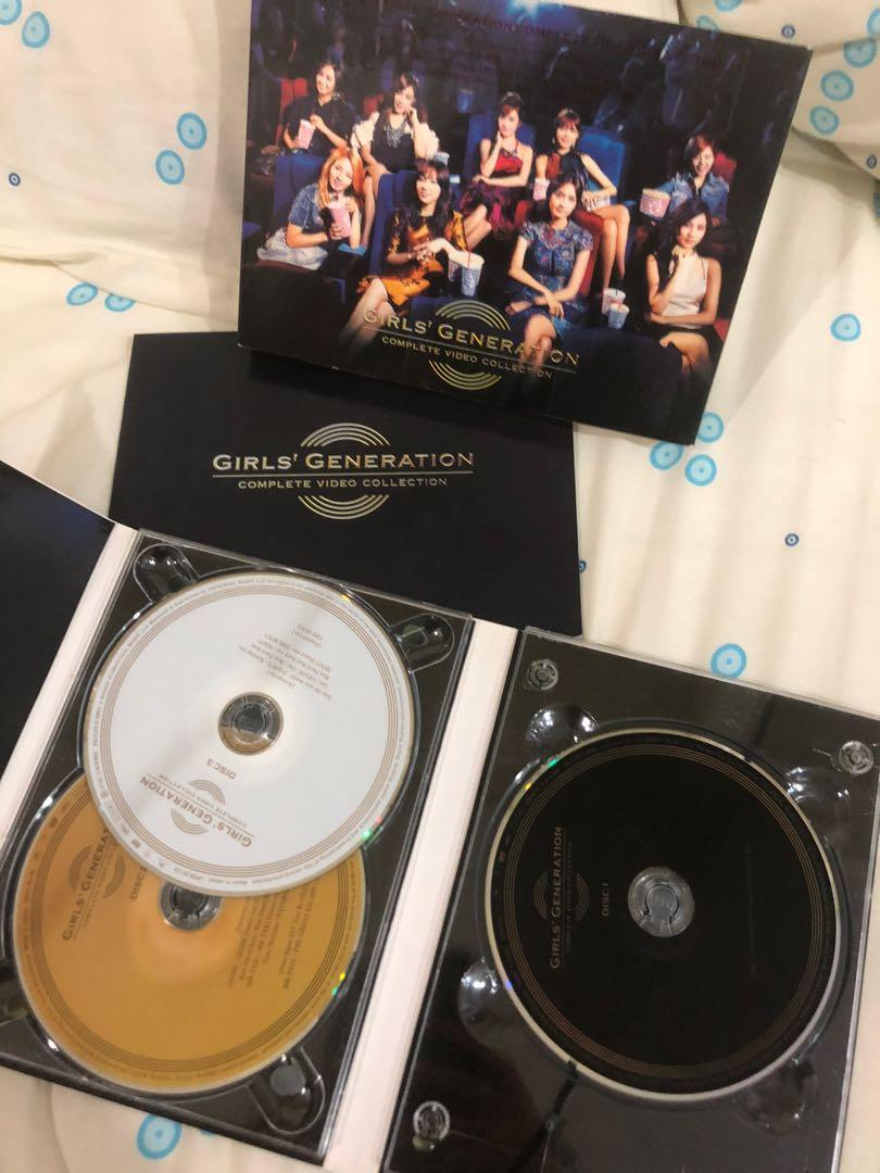 SNSD GIRLS GENERATION ALBUM COMPLETE VIDEO COLLECTION