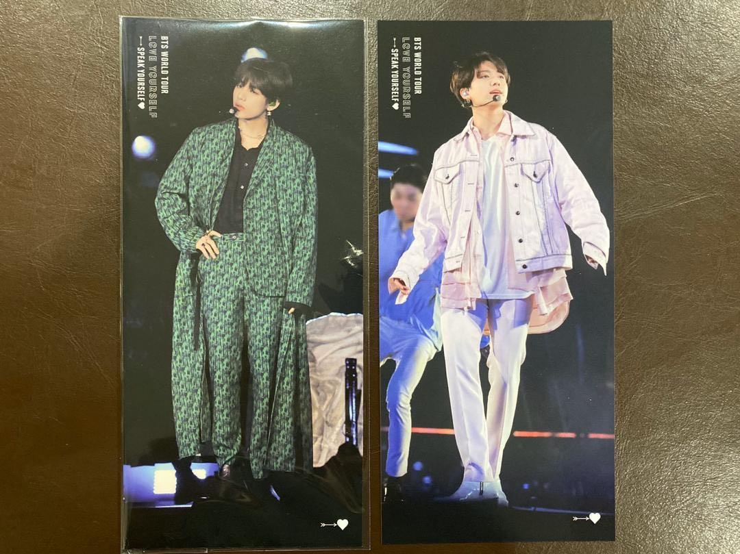 [Stock Arrival] BTS São Paulo Taehyung and Jungkook Bookmark