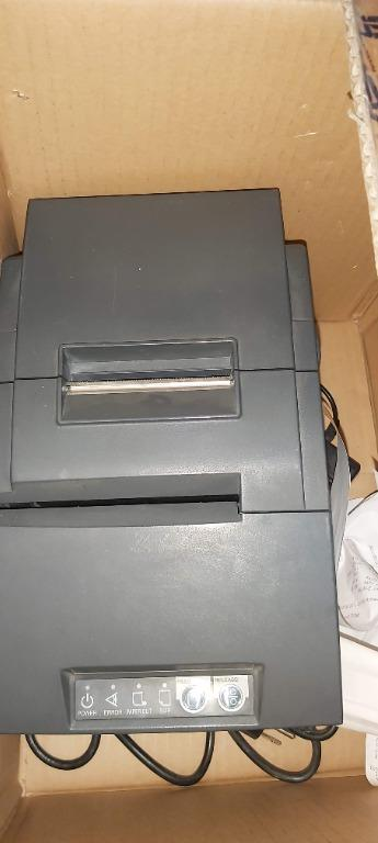 Thermal Receipt Printer, Epson 6000ii With Adapter