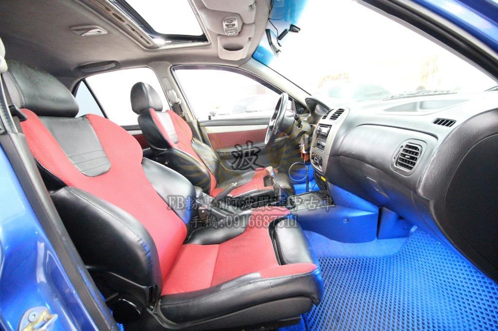 TIERRA 改鋁圈 改方向盤 省油代步車