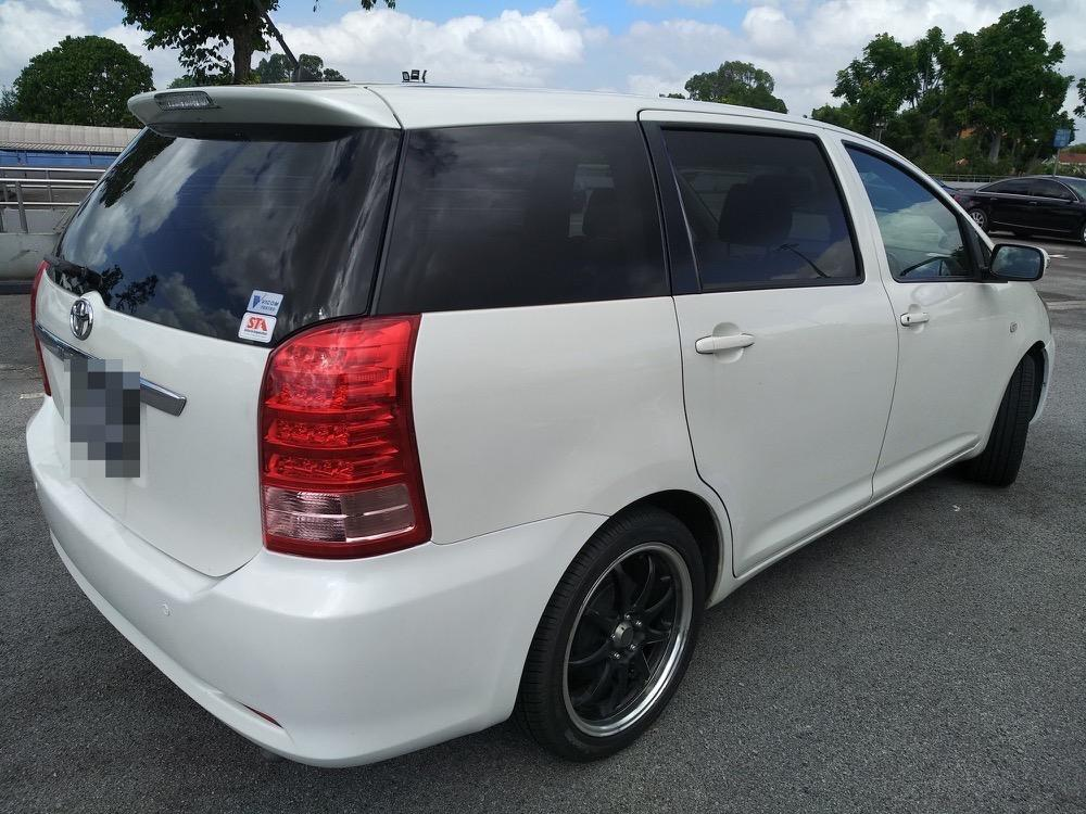 TOYOTA WISH 1.8L - THE MPV OF CHOICE AMONGST DRIVERS! RELIABLE, SPACIOUS, EXCELLENT FUEL CONSUMPTION! EXTRA EARNINGS WITH GRAB 6 SEATER!