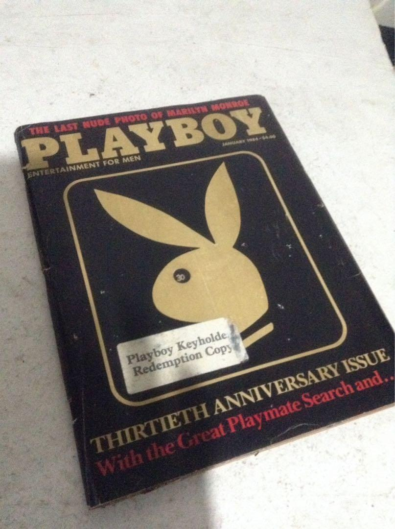 vintage PLAYBOY magazine 30th Anniversary! (Yr.1984)/292 pages/ORIG./USA