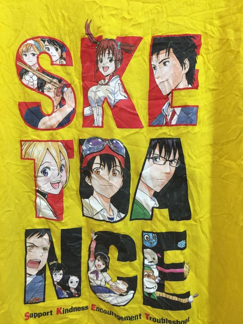Weekly Jump manga japan promo tee shirt Small size
