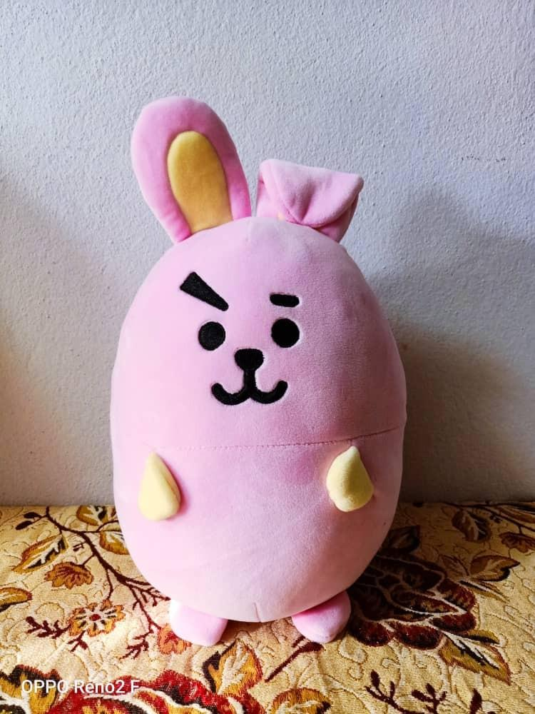 [WTS] BT21 COOKY OFFICIAL EGG MOCHI CUSHION (PRICE RRDUCED)