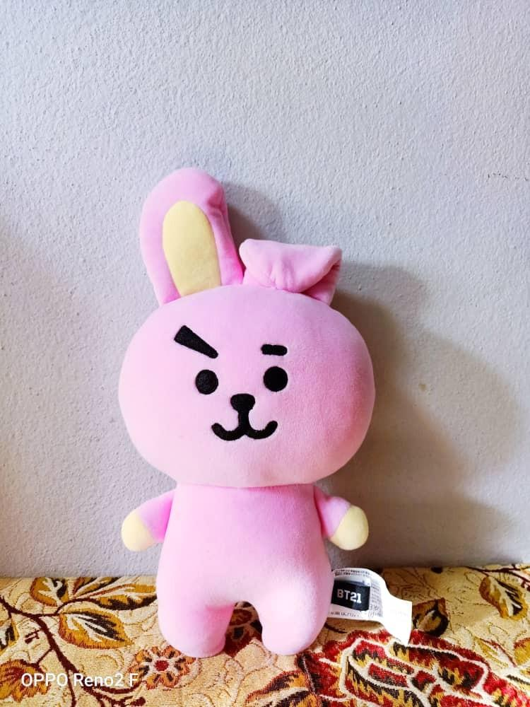 [WTS] BT21 COOKY OFFICIAL FLAT BODY CUSHION (PRICE REDUCED)