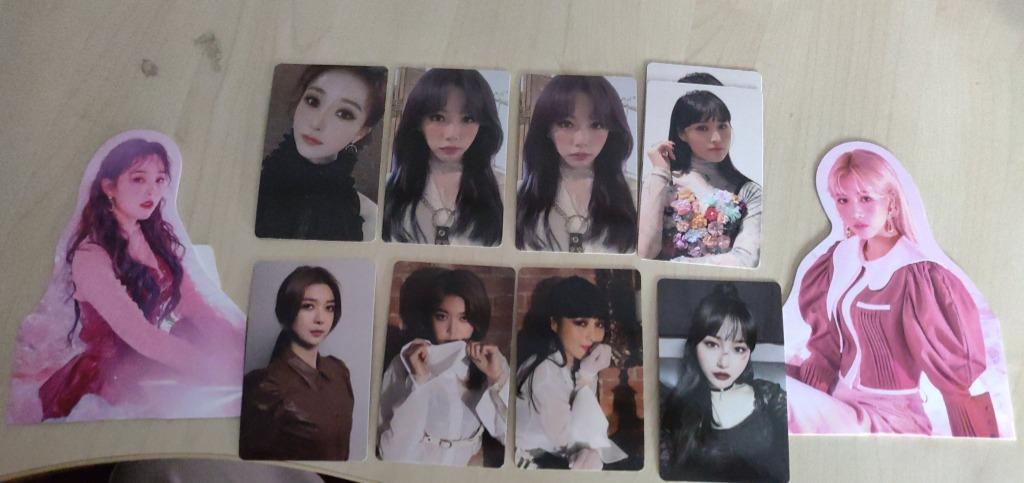 """WTT/WTS Dreamcatcher """"Dystopia : The Tree Of Language"""" Photocards"""