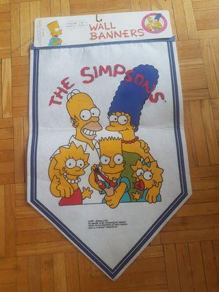 The Simpsons Vintage Wall Banner