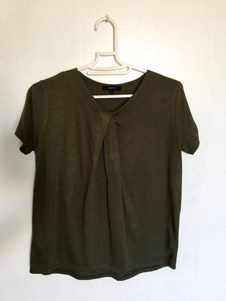 Army Green Blouse FREE SHIPPING IN MANILA