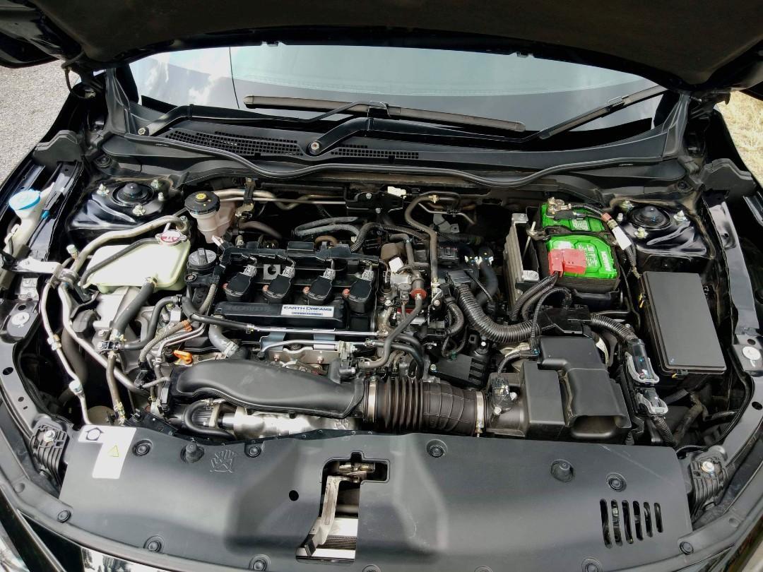 2017 Honda Civic 1.5 TC (Auto)  TurboCharged Full Loan Xperlu Lesen Deposit 500 Saja