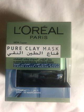 Mask L'OREAL Pure Clay Mask