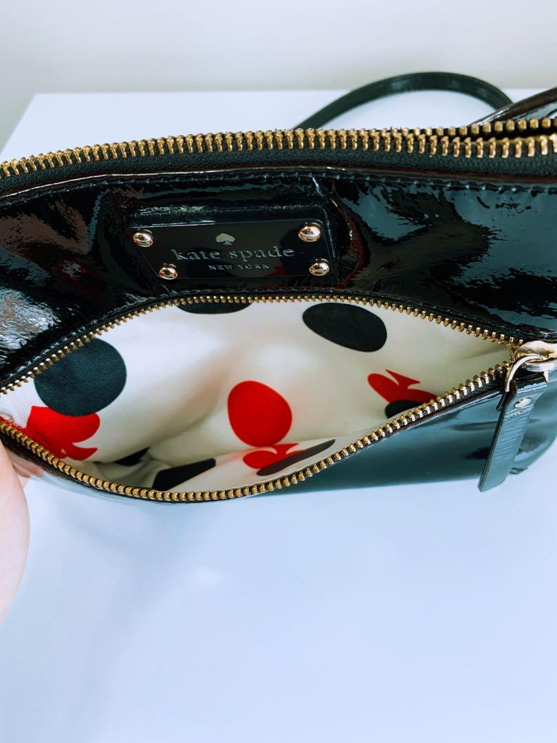 Authentic* Black Kate Spade Crossbody Purse / Messenger Handbag