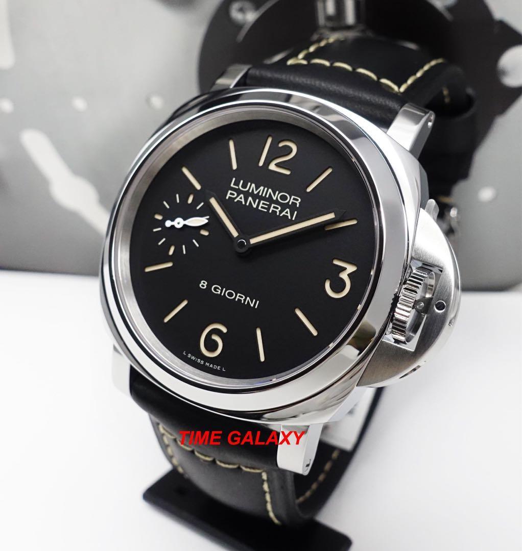 """Brand New PANERAI PAM915 """"8 Giorni""""Luminor Marina 8days 44mm Handwound stainless steel men's watch"""