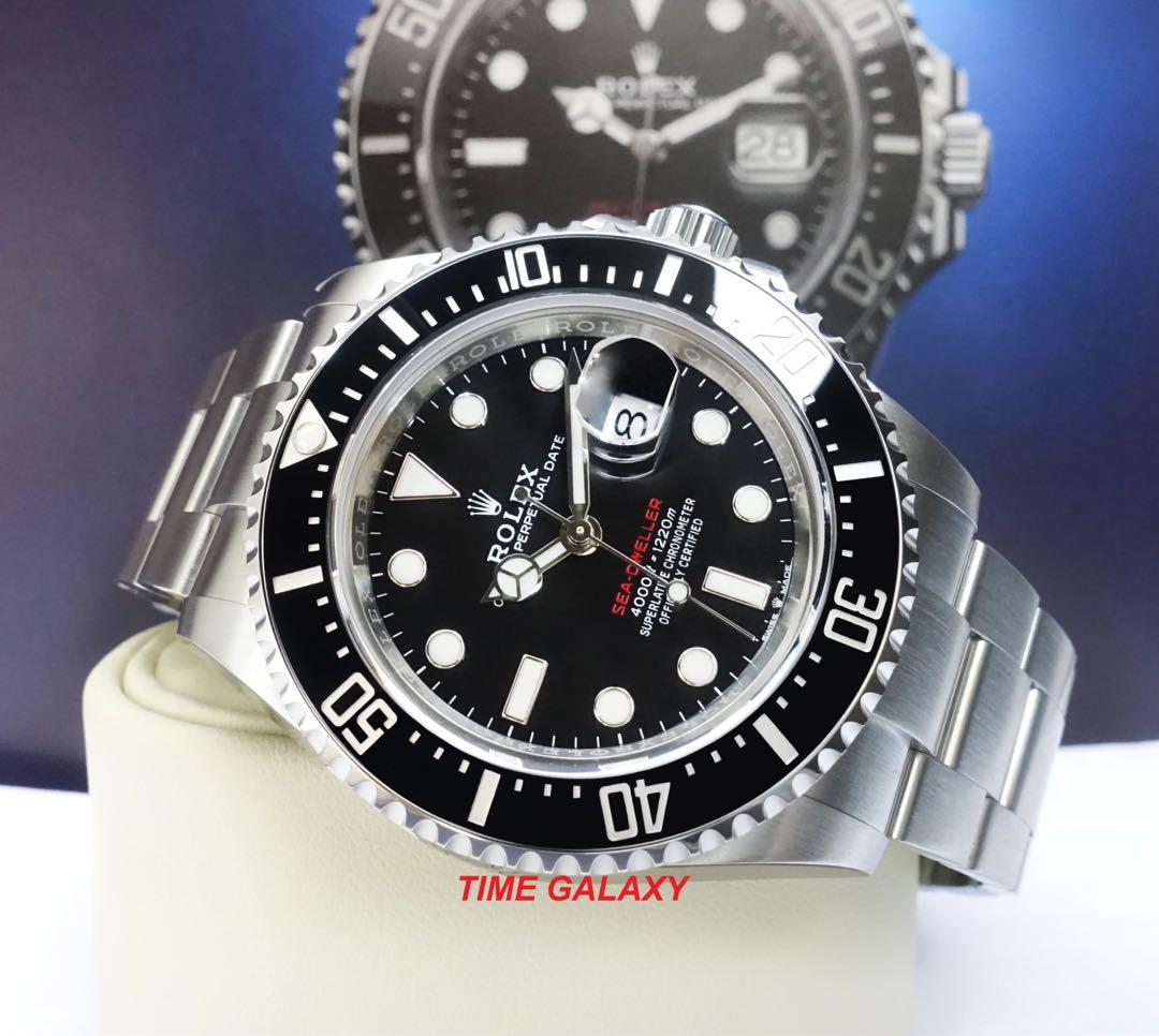 Brand New ROLEX Sea-Dweller 126600 43mm Automatic Stainless Steel Watch.