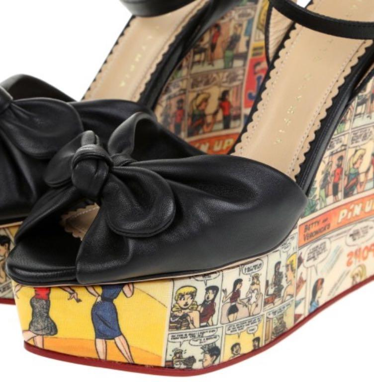 Charlotte Olympia x Archie Comics Limited Edition Time Capsule Collection. Collector's Item.