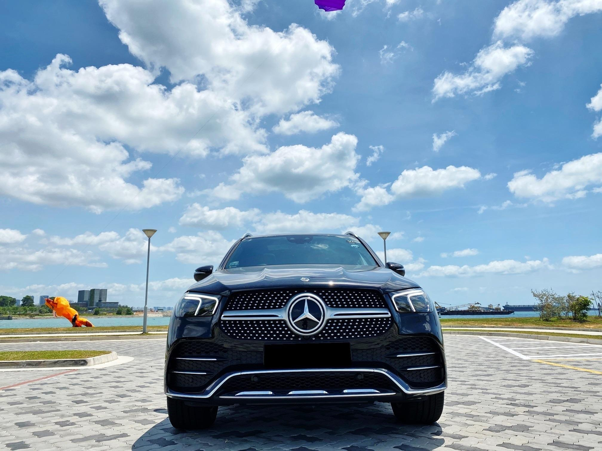MERCEDES BENZ GLE450 AMG LINE M-HYBRID 4MATIC AUTO