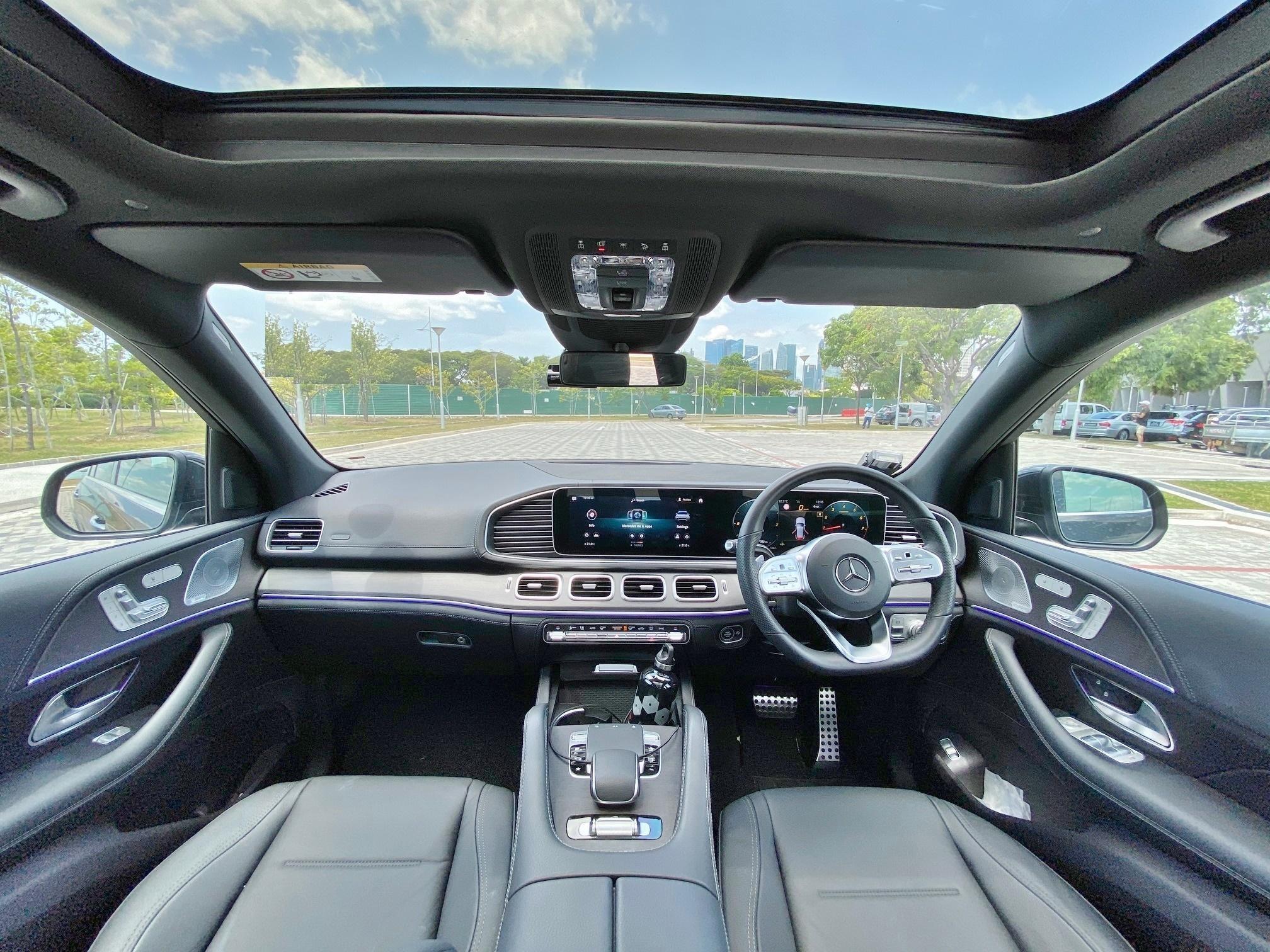 MERCEDES BENZ GLE450 AMG LINE M-HYBRID 4MATIC AUTO