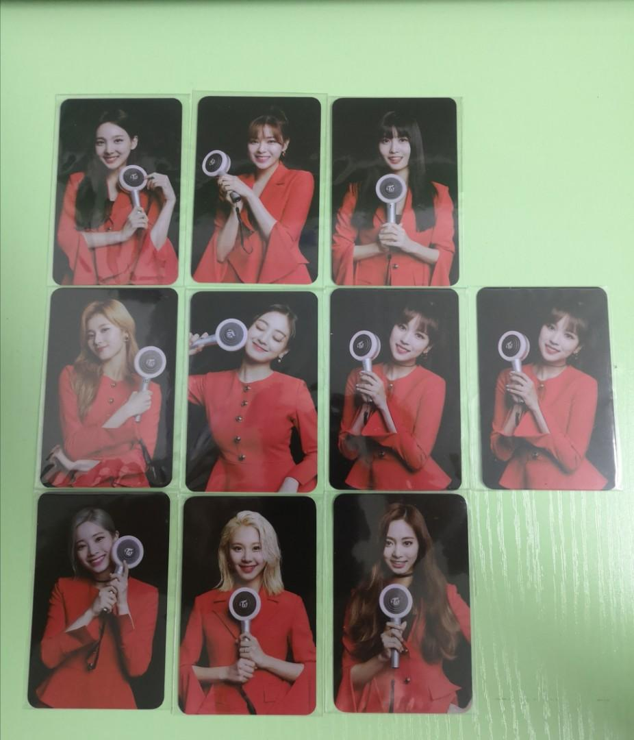 OFFICIAL TWICE CANDYBONG Z PHOTOCARDS (Complete Set=