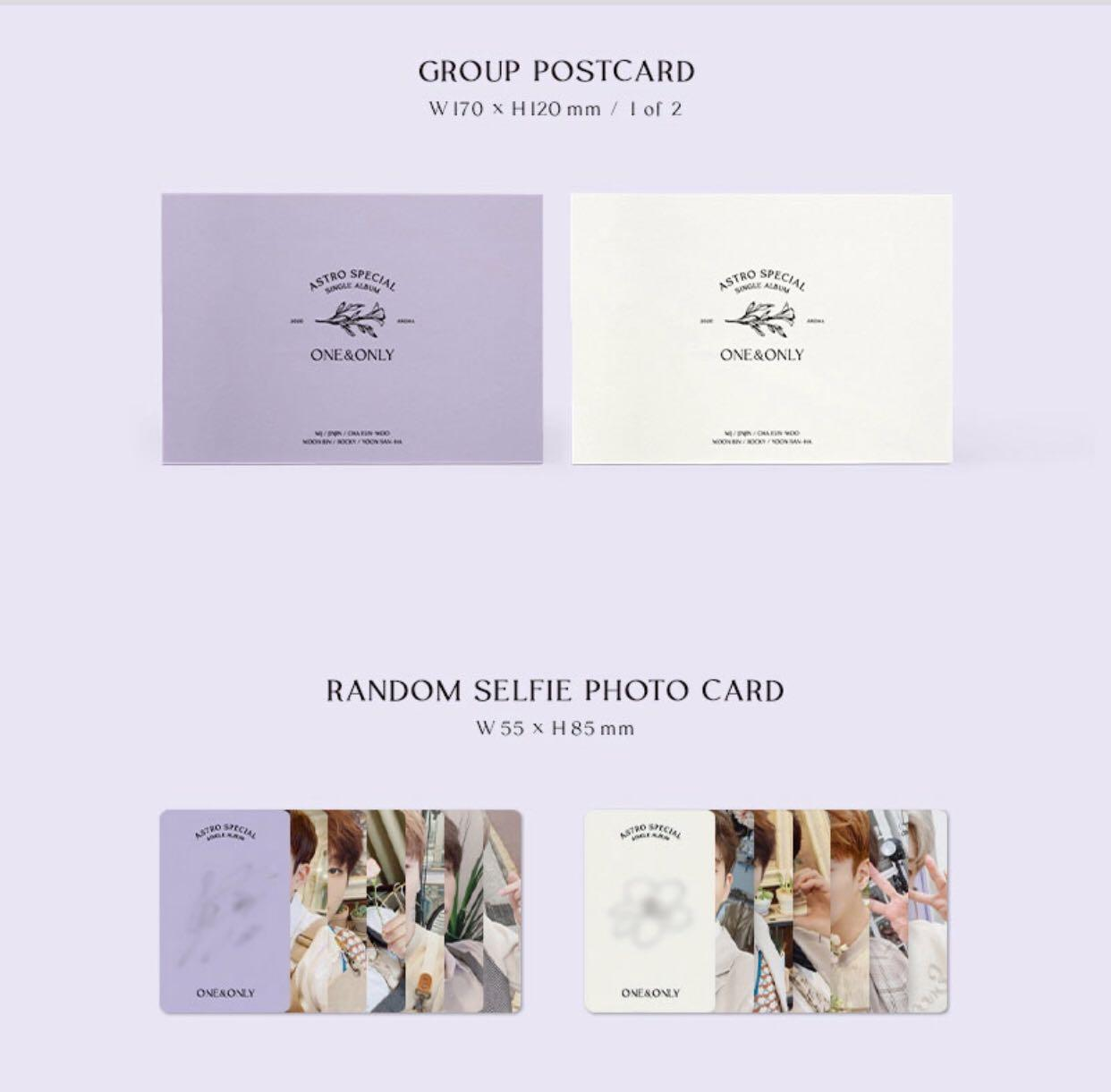 [PREORDER] ASTRO - ONE & ONLY Special Single Album