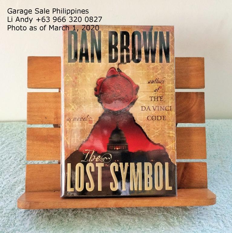 Robert Langdon Series by Dan Brown, Angels and Demons, Da Vinci Code, Lost Symbol