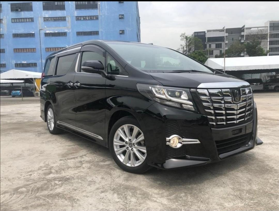Toyota% Alphard 2.5 S A double moon roof 6 seaters Auto