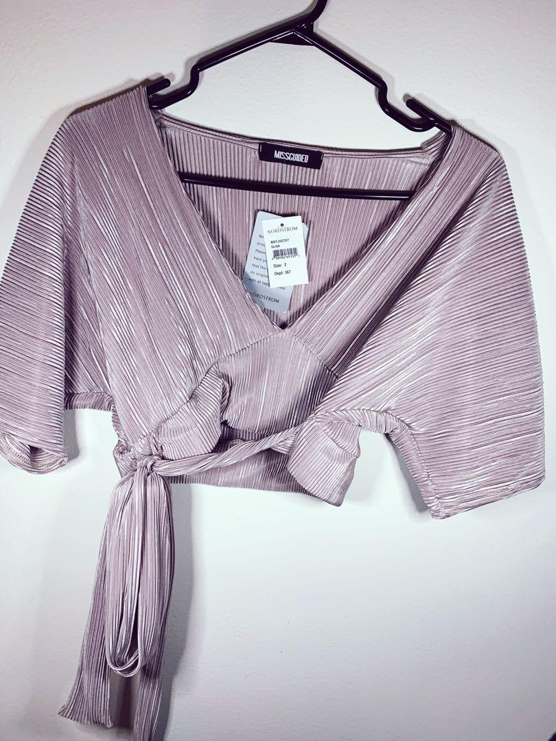 Women's FASHION too / silky shirt from Nordstrom Size 2