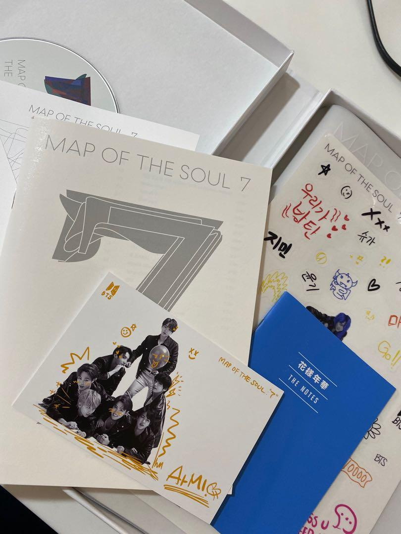 [WTS] BTS MAP OF THE SOUL 7 VERSION 3 ALBUM WITHOUT PHOTOCARD