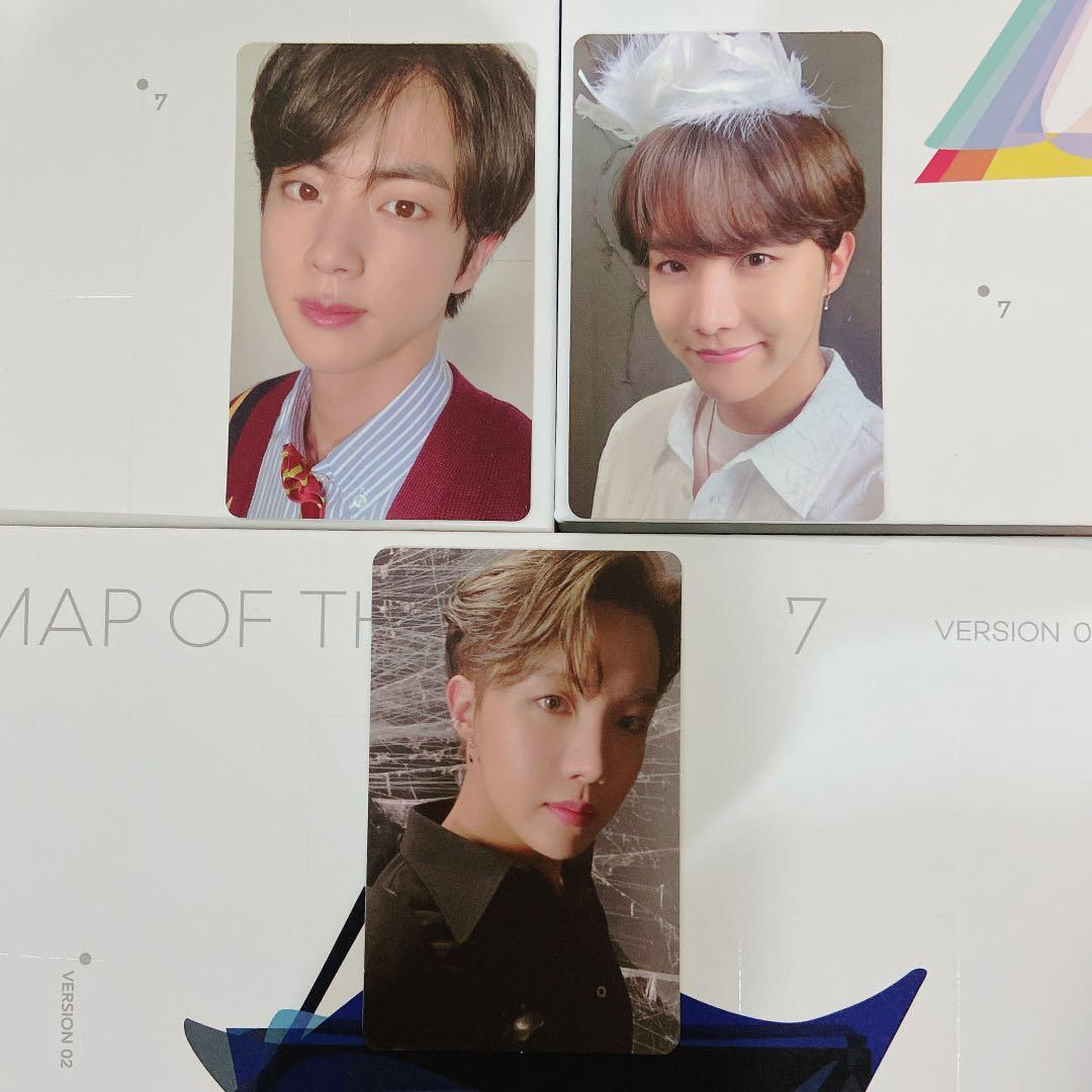 [WTT] BTS MAP OF THE SOUL : 7 MOTS 7 PHOTOCARD / PC