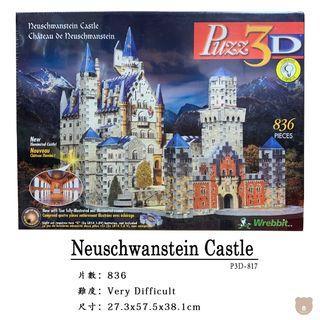 【 Wrebbit Puzz 3D立體拼圖】  Neuschwanstein Castle 德國新天鵝城堡