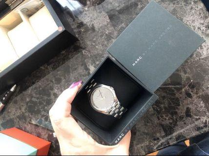 Marc Jacobs silvervwatch