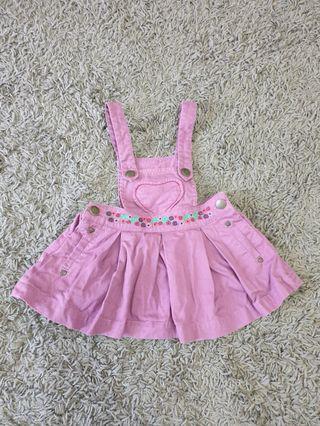 Poney skirt overall