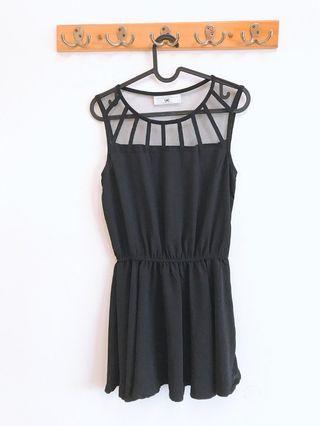 airspace 黑色網格洋裝
