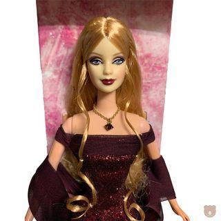 【 Barbie 】January Garnet™ Barbie® Doll