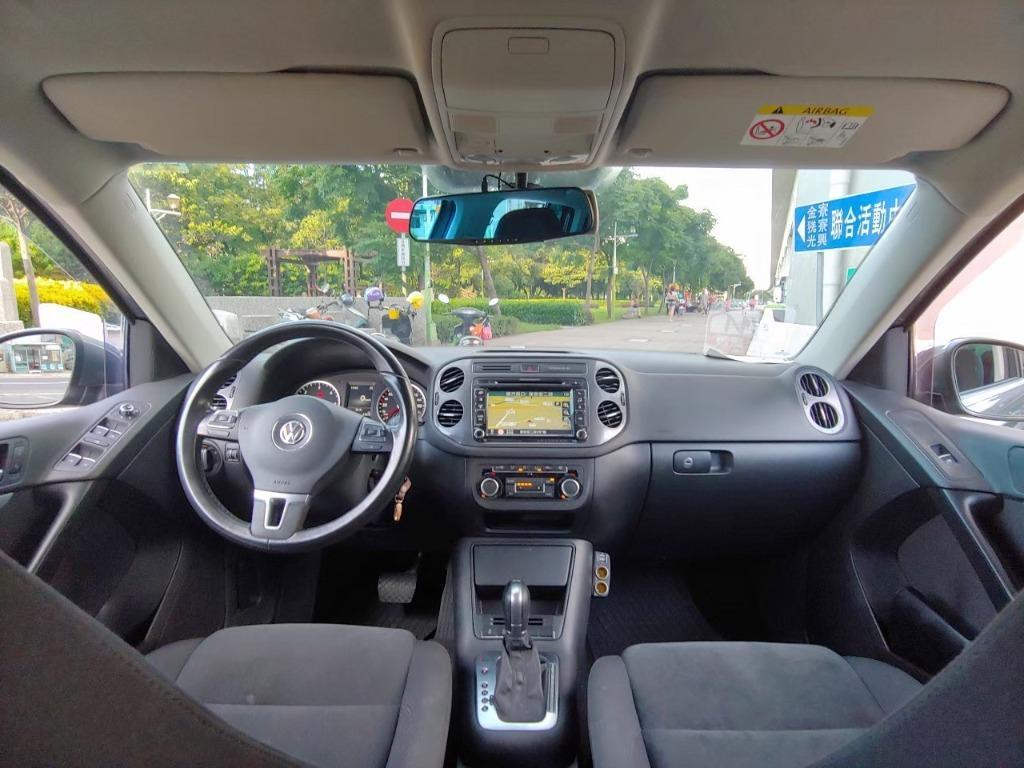 全台最便宜 實車實價 2015 福斯Tiguan 2.0柴油 鋼鐵灰 全額貸款 找錢車 非自售 一手車