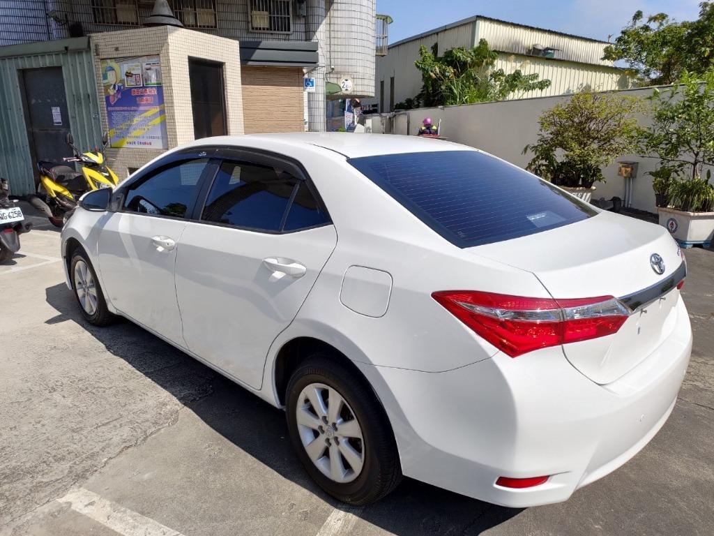全台最便宜 實車實價 2015 TOYOTA ALTIS 1.8 十吋大螢幕 可全額貸 找錢車 非自售 一手車