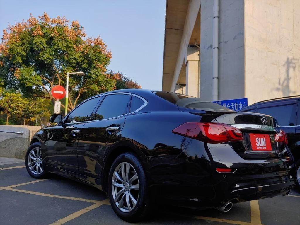 全台最便宜 實車實價 正2016 Infiniti Q70 旗艦頂級 全額貸款 找錢車 非自售 一手車