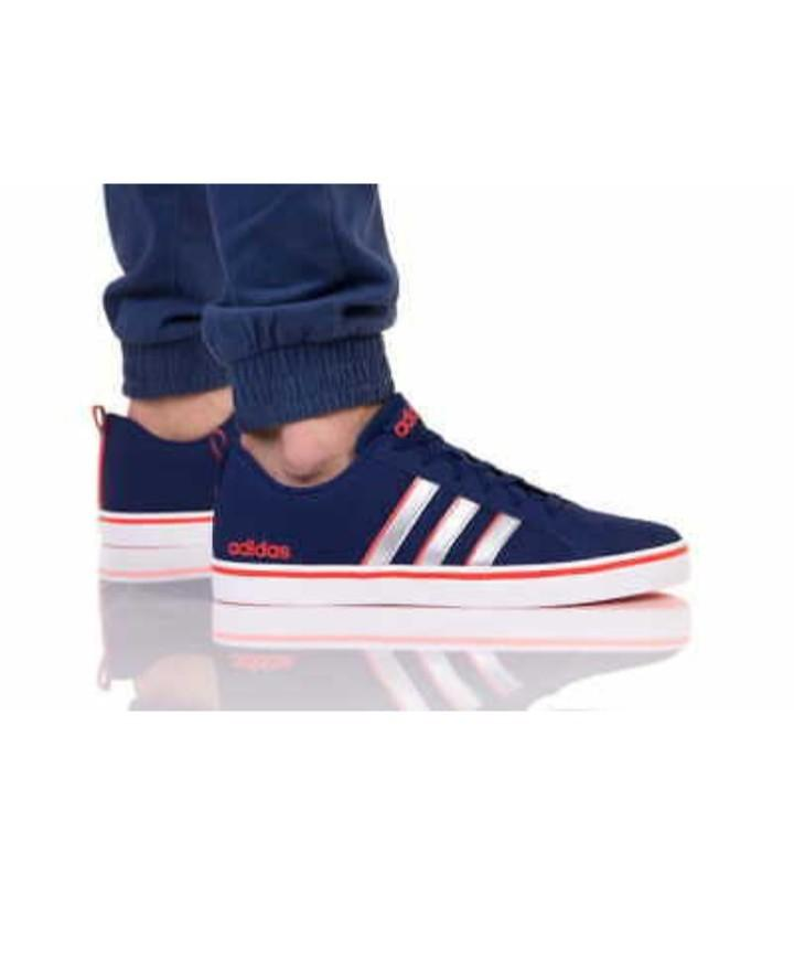 adidas Mens Gents VS PACE Multicolor Trainers Shoes Footwear Laces Ankle Collar
