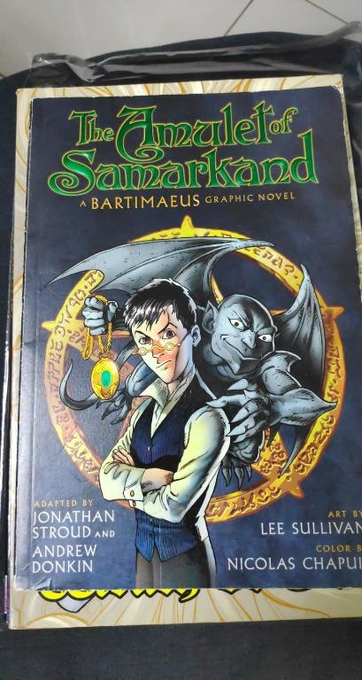 Amulet of Samarkand GN (2010 Disney/Hyperio) A Bartimaeus Graphic Novel #1-1ST